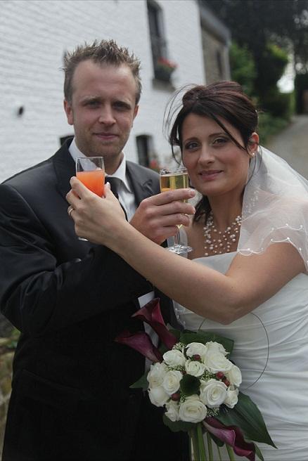 Mariage Magalie et Gabriel - Bouquet mariée