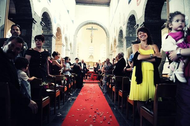 Mariage Audrey et Fabio - Décoration église