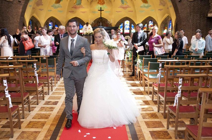 Mariage Marie et Michaël - Décoration église