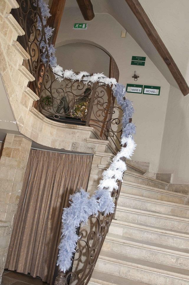 Mariage Marie et Michaël - Décoration escaliers