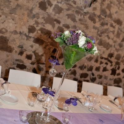 Mariage Carole et Bruno - Décoration table