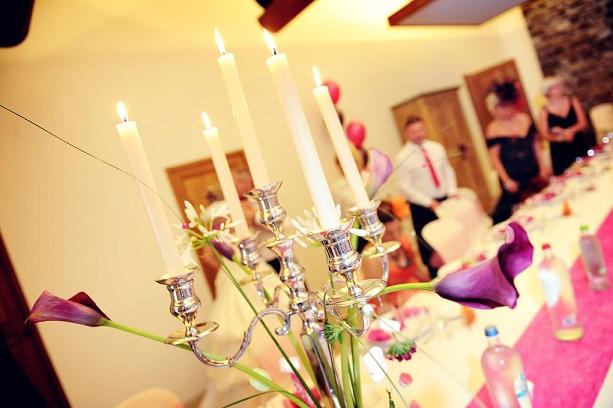 Mariage Audrey et Fabio - Décoration table