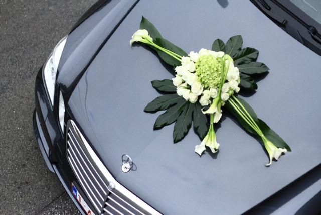 Mariage Julie et Mathieu - Décoration voiture