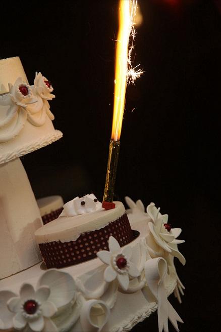 Mariage Magalie et Gabriel - Gâteau de mariage