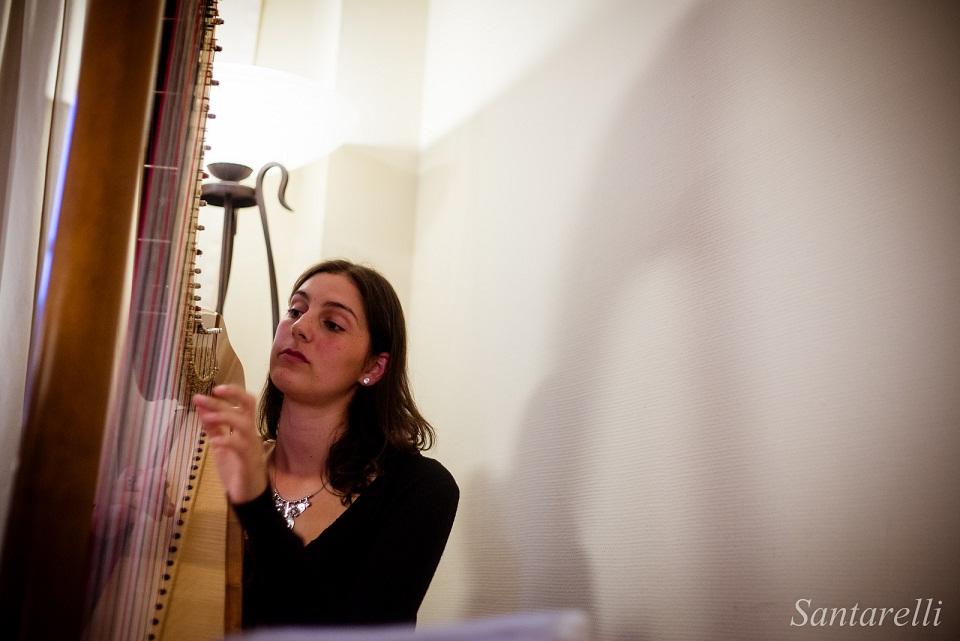Mariage Eléna et François-Xavier - Harpiste
