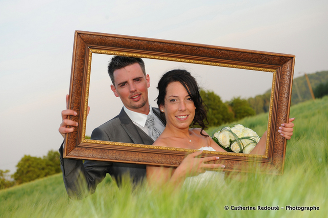 Mariage Anouck et Sébastien - Les mariés