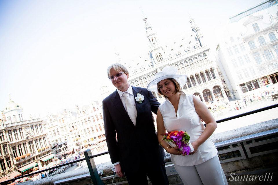 Mariage Eléna et François-Xavier - Les mariés