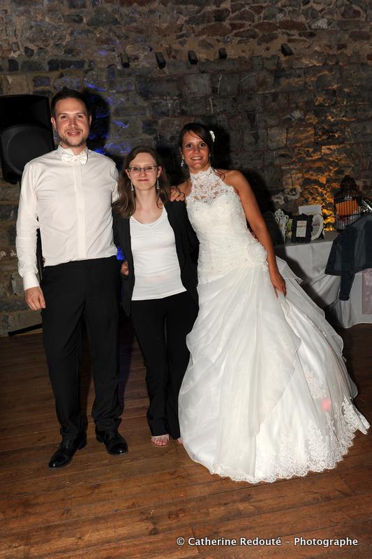 Mariés et organisatrice
